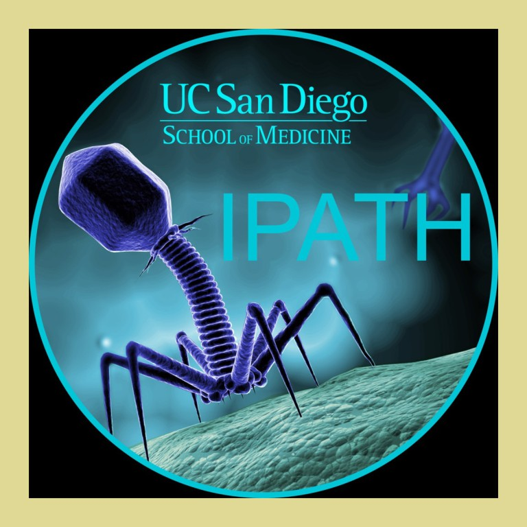 Logo with Even phage